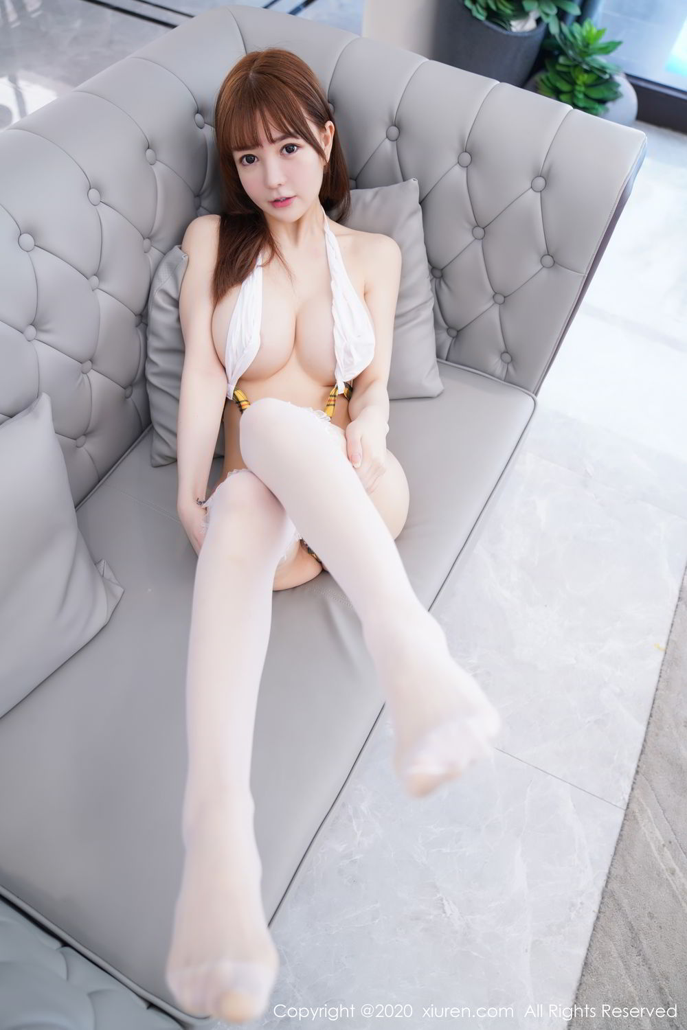 [XiuRen] Vol.2115 Uu Jiang 24P, Baby Face Big Boobs, Cute, UU Jiang, Xiuren