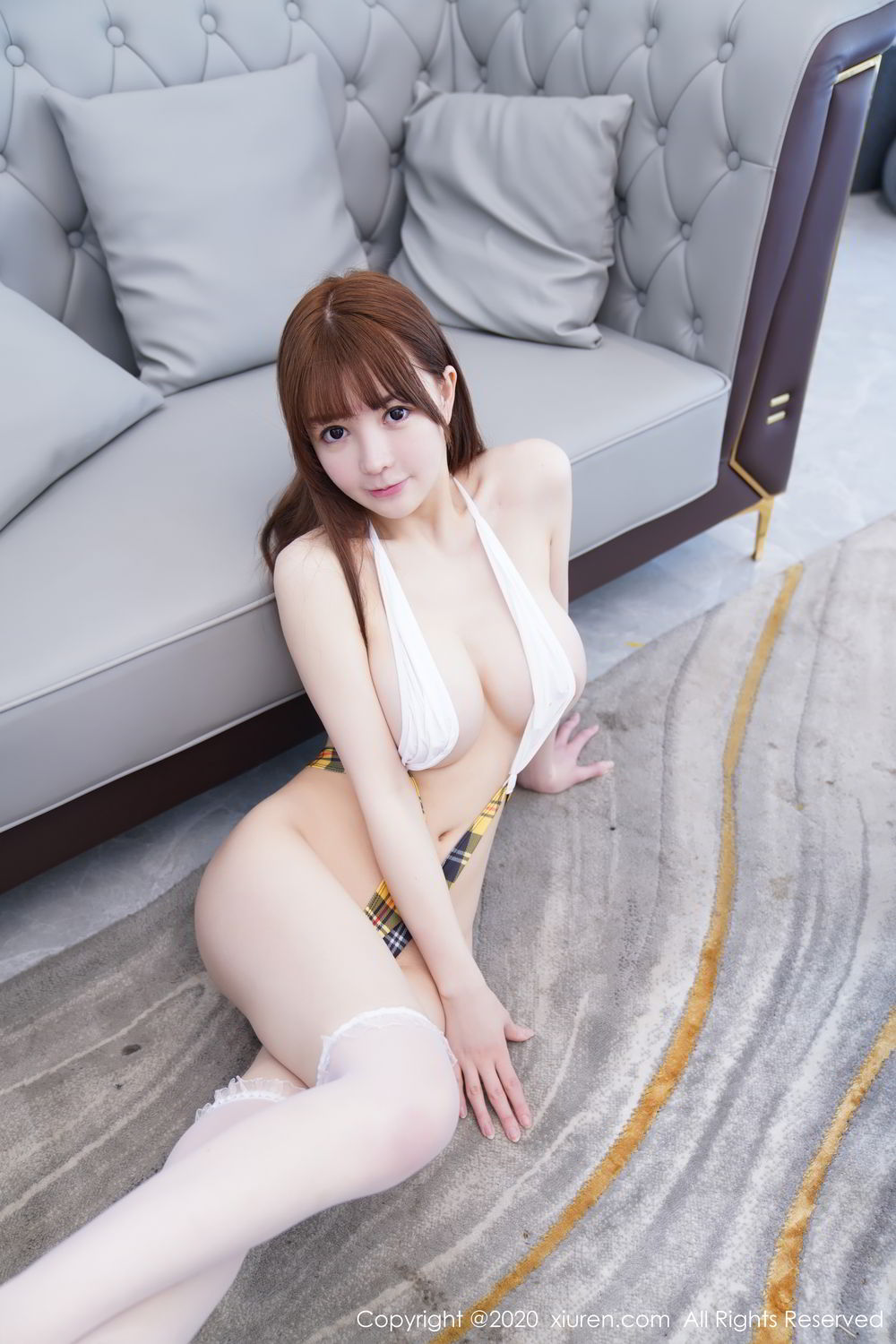 [XiuRen] Vol.2115 Uu Jiang 33P, Baby Face Big Boobs, Cute, UU Jiang, Xiuren