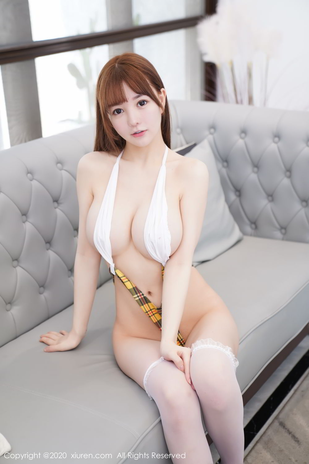 [XiuRen] Vol.2115 Uu Jiang 40P, Baby Face Big Boobs, Cute, UU Jiang, Xiuren