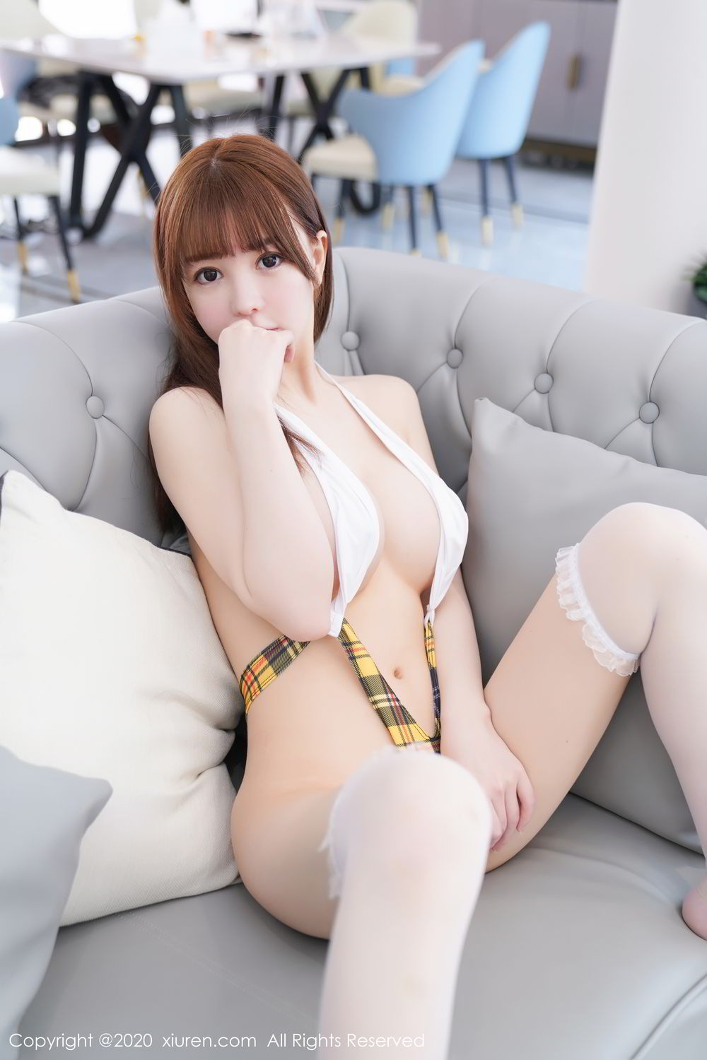 [XiuRen] Vol.2115 Uu Jiang 42P, Baby Face Big Boobs, Cute, UU Jiang, Xiuren