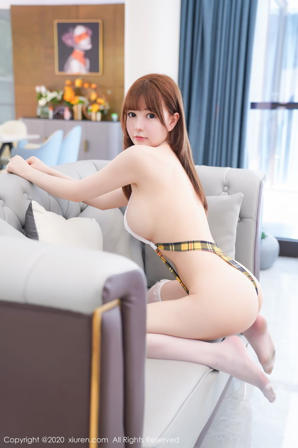 [XiuRen] Vol.2115 Uu Jiang 45P, Baby Face Big Boobs, Cute, UU Jiang, Xiuren