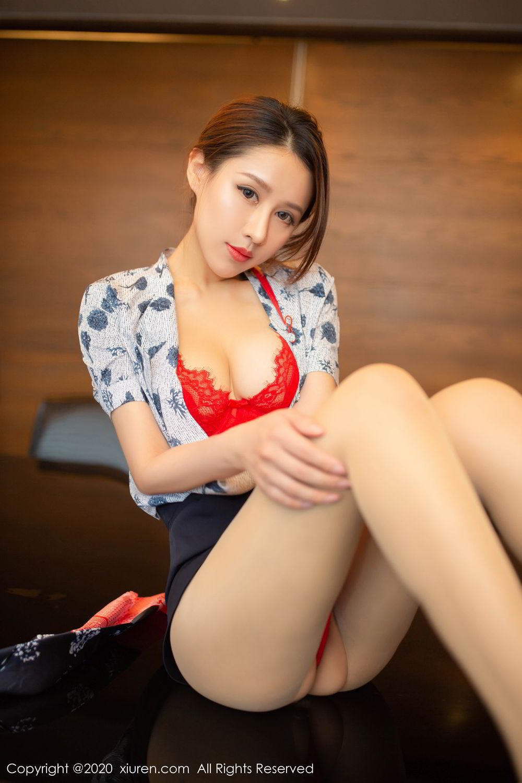 [XiuRen] Vol.2117 Xu An An 46P, Stewardess, Underwear, Xiuren, Xu An An