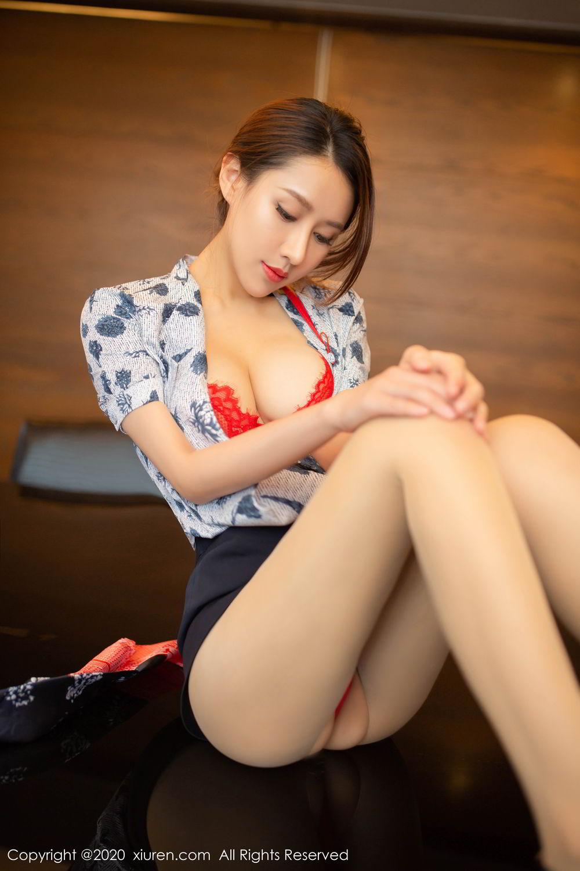 [XiuRen] Vol.2117 Xu An An 47P, Stewardess, Underwear, Xiuren, Xu An An