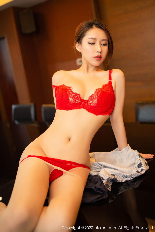 [XiuRen] Vol.2117 Xu An An 67P, Stewardess, Underwear, Xiuren, Xu An An