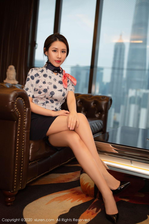 [XiuRen] Vol.2117 Xu An An 78P, Stewardess, Underwear, Xiuren, Xu An An