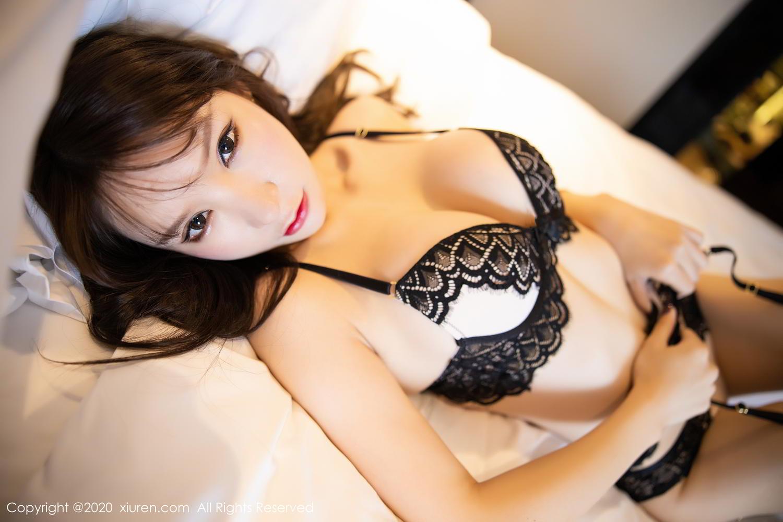 [XiuRen] Vol.2118 Zhou Yu Xi 62P, Black Silk, Tall, Underwear, Xiuren, Zhou Yu Xi
