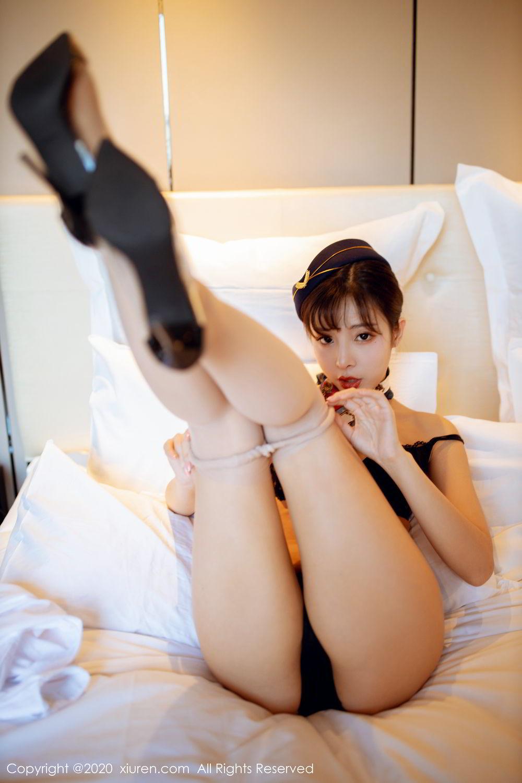 [XiuRen] Vol.2119 Chen Xiao Miao 43P, Chen Xiao Miao, Stewardess, Underwear, Uniform, Xiuren