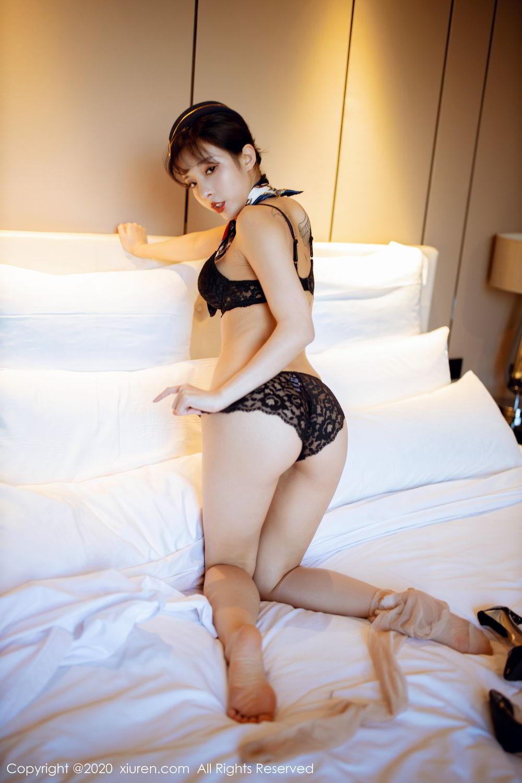 [XiuRen] Vol.2119 Chen Xiao Miao 52P, Chen Xiao Miao, Stewardess, Underwear, Uniform, Xiuren