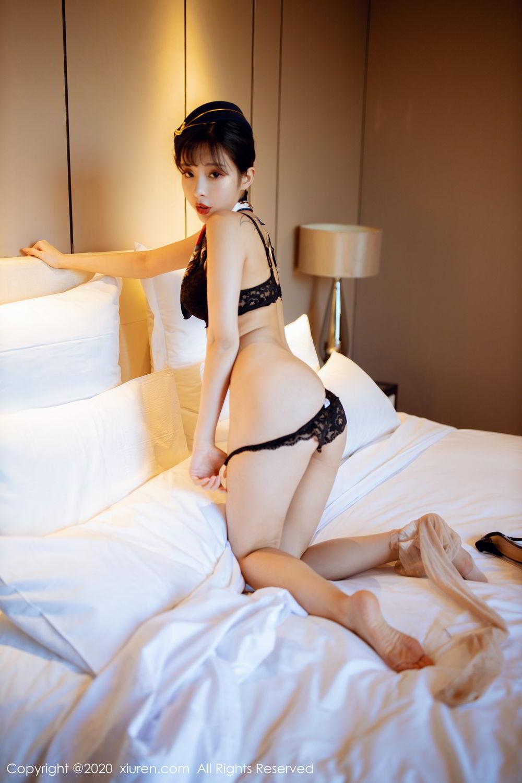 [XiuRen] Vol.2119 Chen Xiao Miao 53P, Chen Xiao Miao, Stewardess, Underwear, Uniform, Xiuren