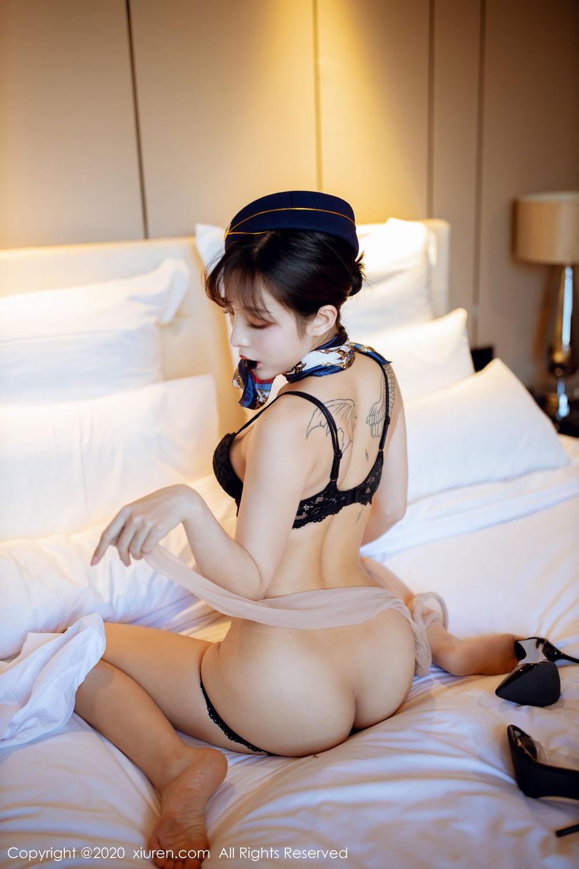 [XiuRen] Vol.2119 Chen Xiao Miao 57P, Chen Xiao Miao, Stewardess, Underwear, Uniform, Xiuren