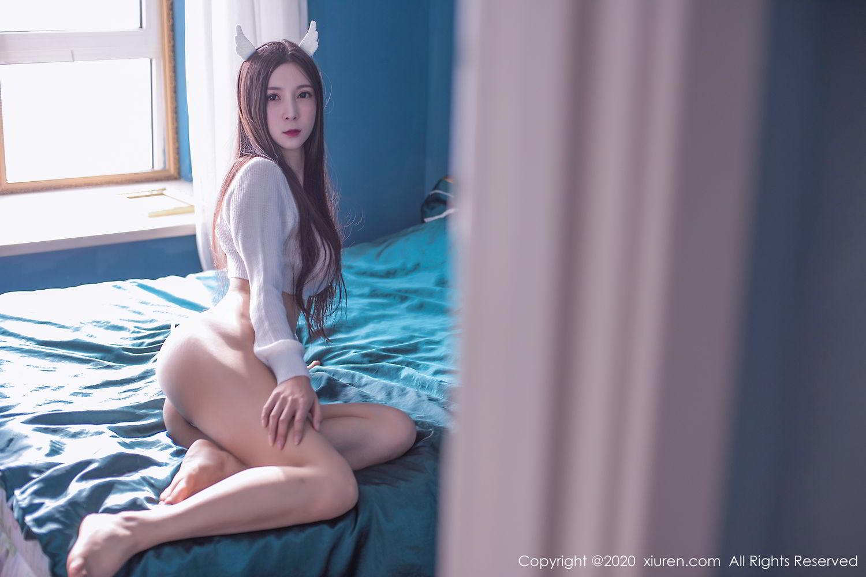 [XiuRen] Vol.2120 Xiao Man Yao 70P, Christmas, Tall, Xiao Man Yao, Xiuren