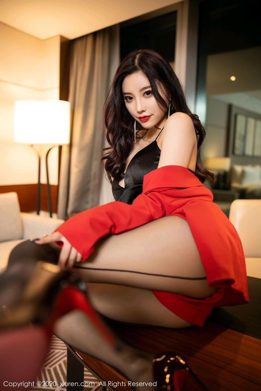 [XiuRen] Vol.2122 Yang Chen Chen 39P, Black Silk, Uniform, Xiuren, Yang Chen Chen
