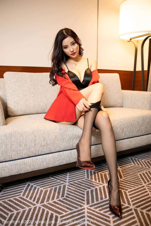 [XiuRen] Vol.2122 Yang Chen Chen 67P, Black Silk, Uniform, Xiuren, Yang Chen Chen