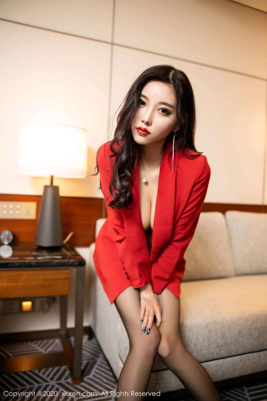 [XiuRen] Vol.2122 Yang Chen Chen 74P, Black Silk, Uniform, Xiuren, Yang Chen Chen