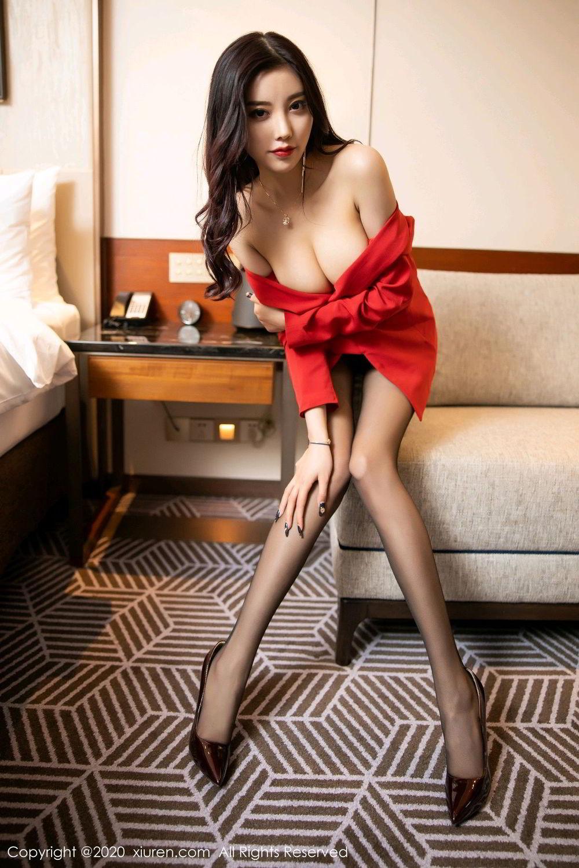 [XiuRen] Vol.2122 Yang Chen Chen 77P, Black Silk, Uniform, Xiuren, Yang Chen Chen
