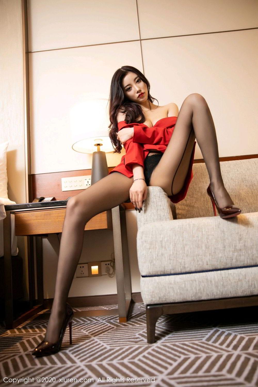 [XiuRen] Vol.2122 Yang Chen Chen 79P, Black Silk, Uniform, Xiuren, Yang Chen Chen