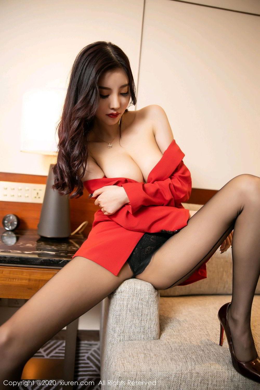 [XiuRen] Vol.2122 Yang Chen Chen 81P, Black Silk, Uniform, Xiuren, Yang Chen Chen