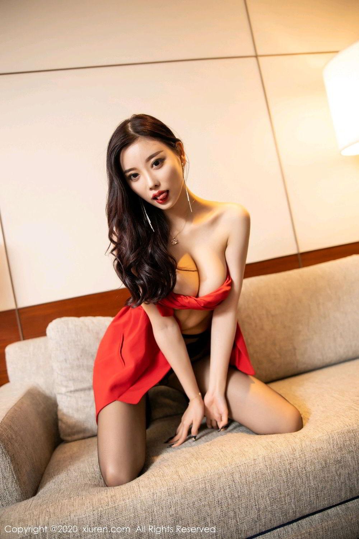 [XiuRen] Vol.2122 Yang Chen Chen 98P, Black Silk, Uniform, Xiuren, Yang Chen Chen