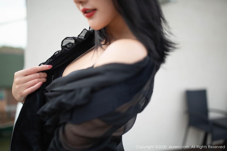 [XiuRen] Vol.2128 Jiu Shi A Zhu && Lu Xuan Xuan 54P, Black Silk, Jiu Shi A Zhu, Lu Xuan Xuan, Sisters, Tall, Xiuren