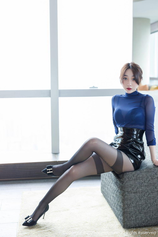 [XiuRen] Vol.2129 Xiao Jiu Yue 11P, Black Silk, Foot, Underwear, Xiao Jiu Yue, Xiuren