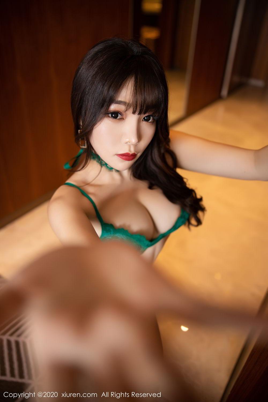[XiuRen] Vol.2133 Zhi Zhi Booty 56P, Black Silk, Chen Zhi, Underwear, Xiuren