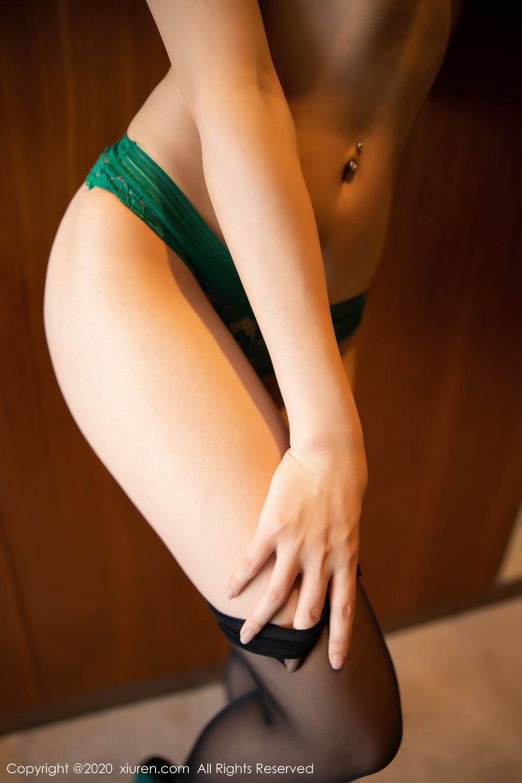 [XiuRen] Vol.2133 Zhi Zhi Booty 65P, Black Silk, Chen Zhi, Underwear, Xiuren