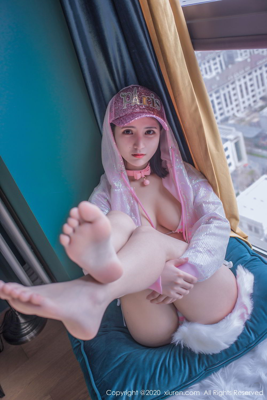 [XiuRen] Vol.2138 Jiu Jiu Aimee 64P, Bathroom, Bikini, Black Silk, Jiu Jiu Aimee, Xiuren