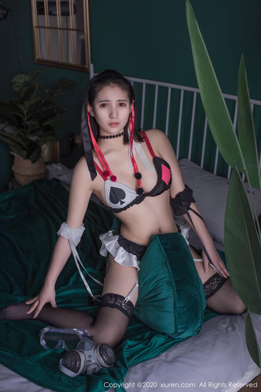 [XiuRen] Vol.2138 Jiu Jiu Aimee 9P, Bathroom, Bikini, Black Silk, Jiu Jiu Aimee, Xiuren