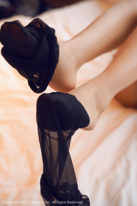 [XiuRen] Vol.2142 Guo Er Victoria 15P, Black Silk, Sexy, Song Guo Er, Underwear, Xiuren