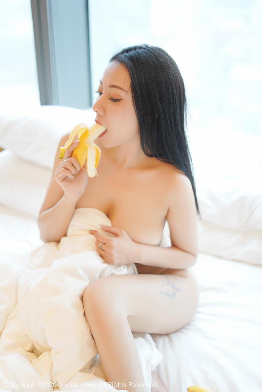[XiuRen] Vol.2142 Guo Er Victoria 3P, Black Silk, Sexy, Song Guo Er, Underwear, Xiuren