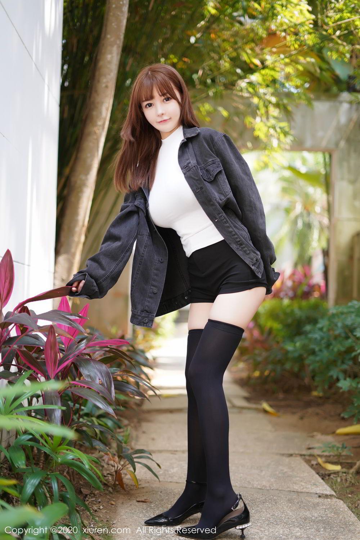 [XiuRen] Vol.2147 UU Jiang 26P, Baby Face Big Boobs, Cute, UU Jiang, Xiuren