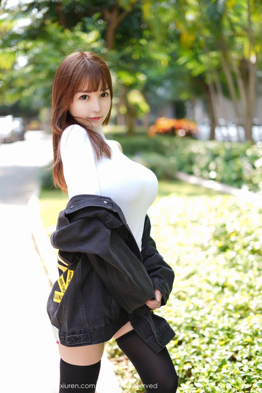 [XiuRen] Vol.2147 UU Jiang 45P, Baby Face Big Boobs, Cute, UU Jiang, Xiuren