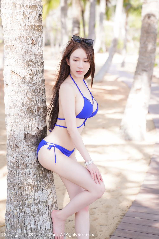 [XiuRen] Vol.2152 Yu Tu Miki 21P, Beach, Bikini, Xiuren, Yu Tu M I K I