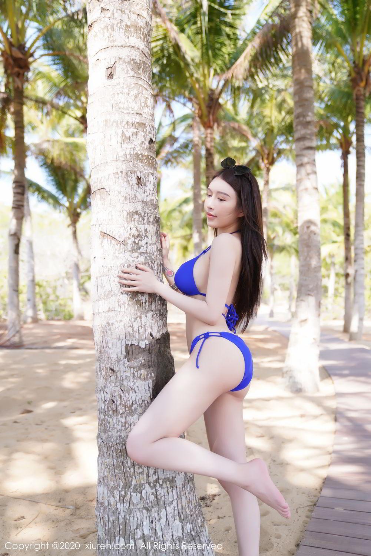 [XiuRen] Vol.2152 Yu Tu Miki 22P, Beach, Bikini, Xiuren, Yu Tu M I K I
