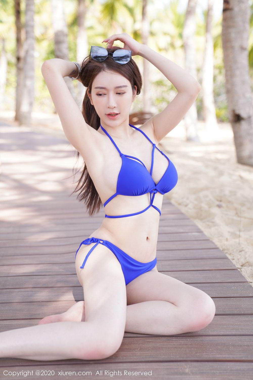 [XiuRen] Vol.2152 Yu Tu Miki 24P, Beach, Bikini, Xiuren, Yu Tu M I K I