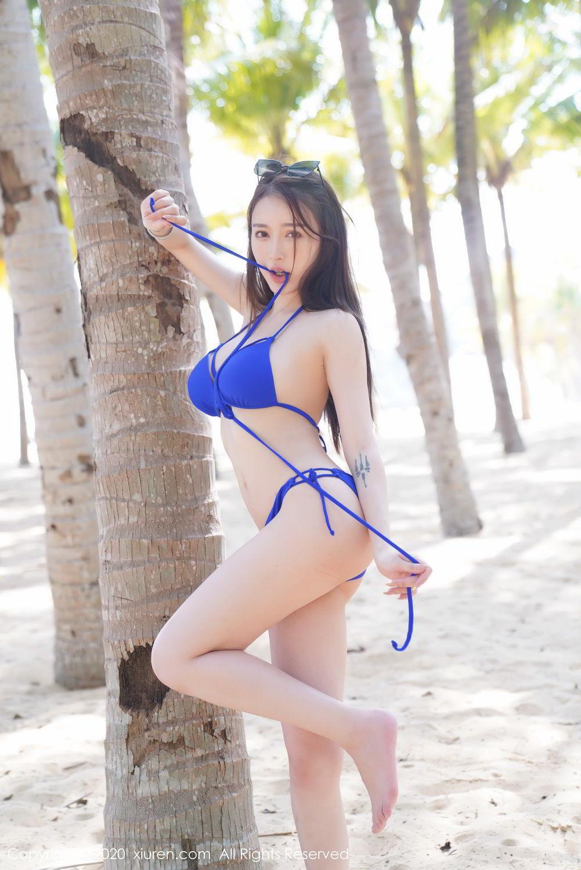 [XiuRen] Vol.2152 Yu Tu Miki 41P, Beach, Bikini, Xiuren, Yu Tu M I K I