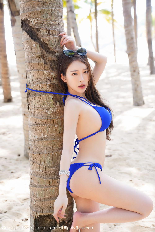[XiuRen] Vol.2152 Yu Tu Miki 46P, Beach, Bikini, Xiuren, Yu Tu M I K I