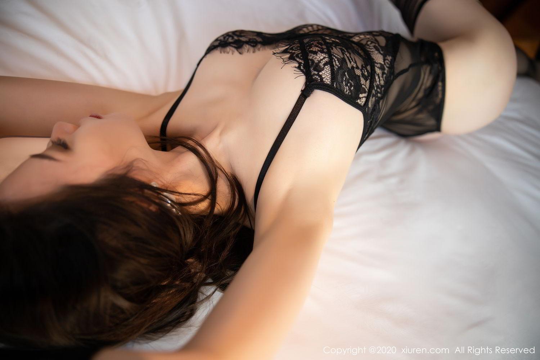 [XiuRen] Vol.2153 Meng Xin Yue 35P, Black Silk, Meng Xin Yue, Tall, Underwear, Xiuren