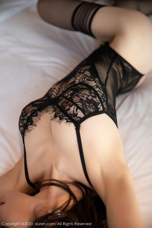 [XiuRen] Vol.2153 Meng Xin Yue 36P, Black Silk, Meng Xin Yue, Tall, Underwear, Xiuren