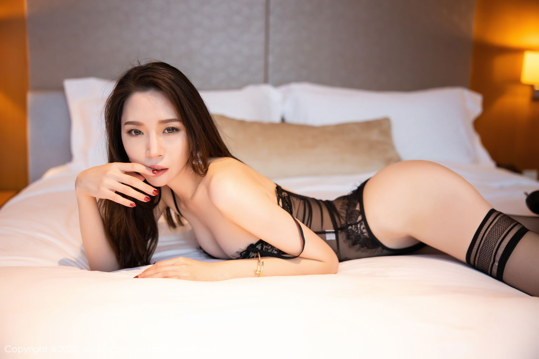 [XiuRen] Vol.2153 Meng Xin Yue 41P, Black Silk, Meng Xin Yue, Tall, Underwear, Xiuren