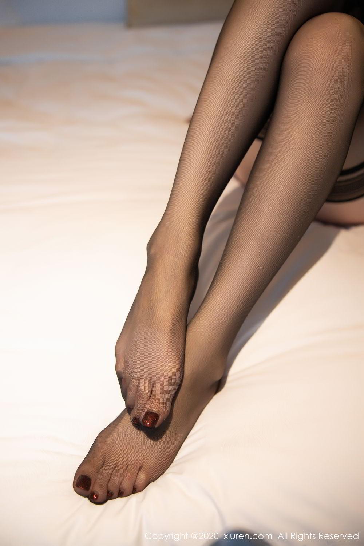 [XiuRen] Vol.2153 Meng Xin Yue 60P, Black Silk, Meng Xin Yue, Tall, Underwear, Xiuren