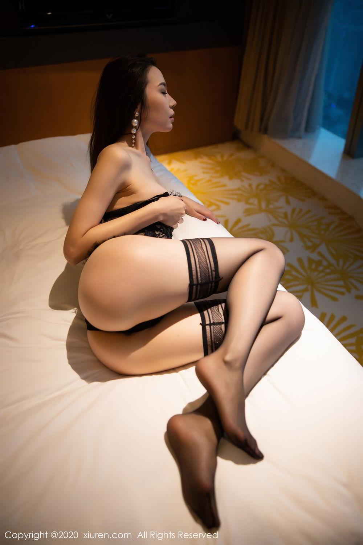 [XiuRen] Vol.2153 Meng Xin Yue 67P, Black Silk, Meng Xin Yue, Tall, Underwear, Xiuren