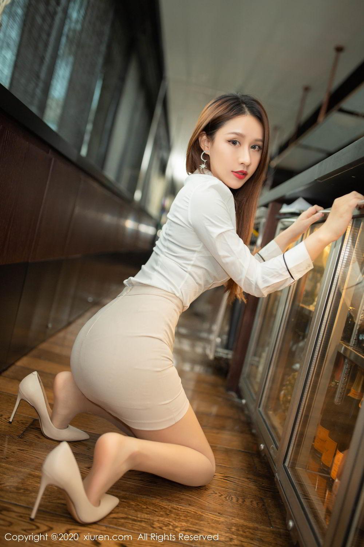 [XiuRen] Vol.2154 Xu An An 12P, Underwear, Uniform, Xiuren, Xu An An