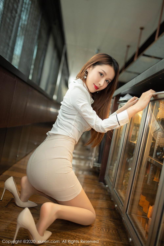 [XiuRen] Vol.2154 Xu An An 13P, Underwear, Uniform, Xiuren, Xu An An