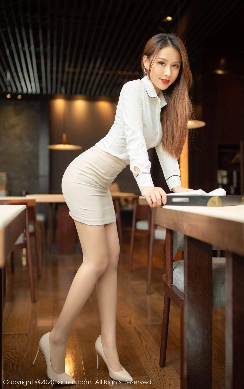 [XiuRen] Vol.2154 Xu An An 1P, Underwear, Uniform, Xiuren, Xu An An