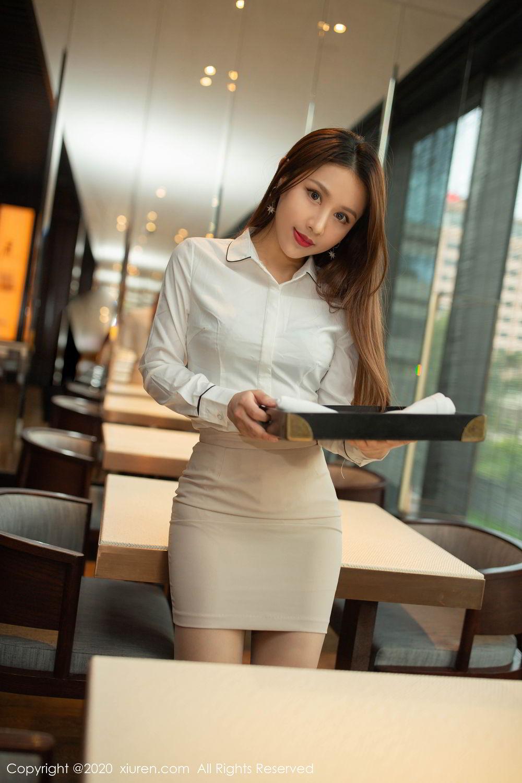 [XiuRen] Vol.2154 Xu An An 22P, Underwear, Uniform, Xiuren, Xu An An