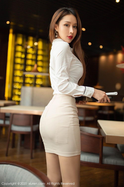 [XiuRen] Vol.2154 Xu An An 23P, Underwear, Uniform, Xiuren, Xu An An