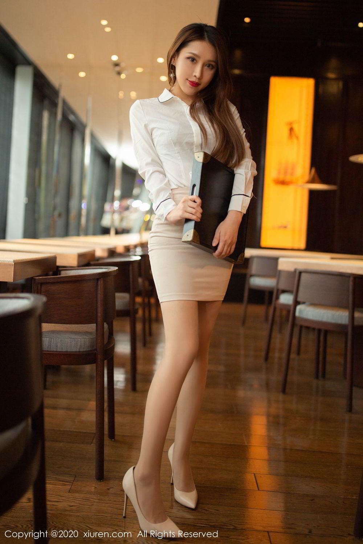 [XiuRen] Vol.2154 Xu An An 24P, Underwear, Uniform, Xiuren, Xu An An
