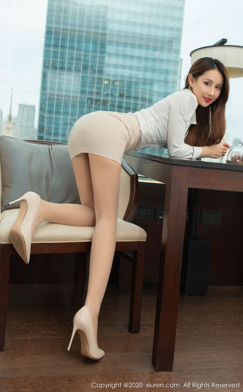 [XiuRen] Vol.2154 Xu An An 41P, Underwear, Uniform, Xiuren, Xu An An