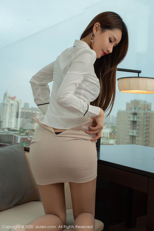 [XiuRen] Vol.2154 Xu An An 45P, Underwear, Uniform, Xiuren, Xu An An